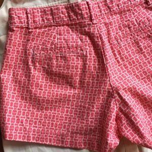 """GAP Shorts - GAP Size 2 """"Summer Short"""" Pink Print"""
